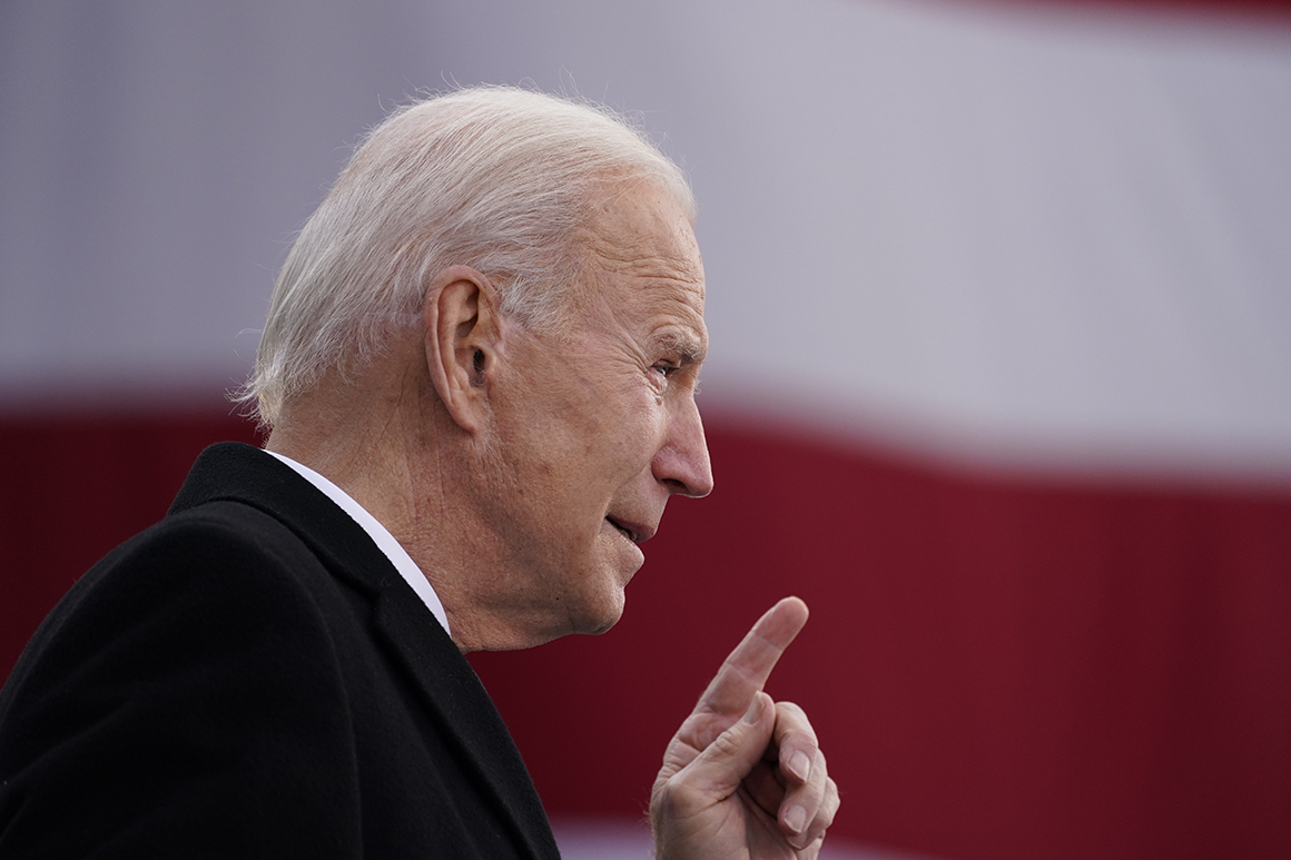 Writing a speech for Biden can be hell. And that was before the inaugural.