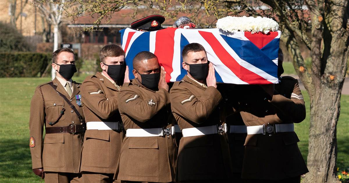 'I told you I was old': Funeral held for 'Captain Tom' who raised millions for U.K. health service