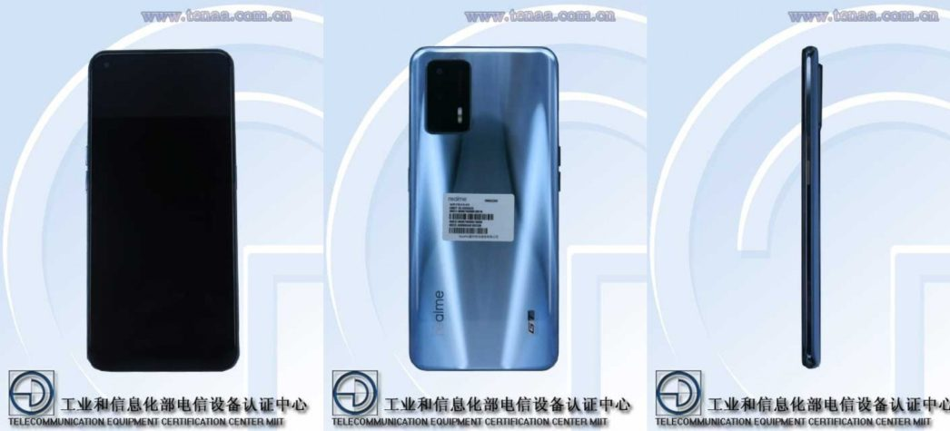 Realme Race seen in official documents