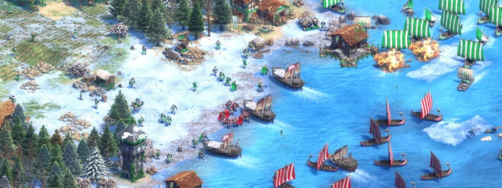 Lords of the West brings the classic Age of Empires 2 to life