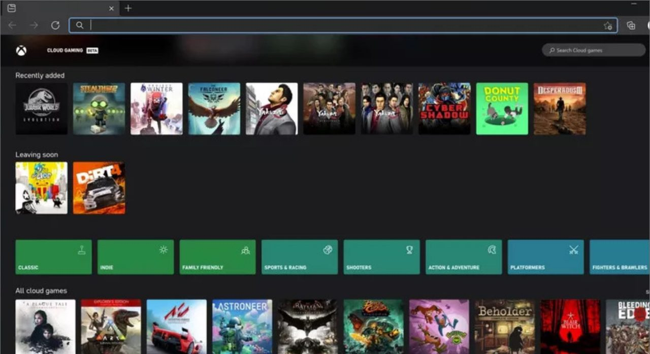First images from Microsoft's xCloud game streaming test