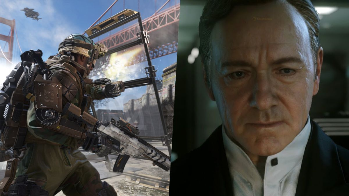 CoD: Advanced Warfare had an end with Kevin Spacey