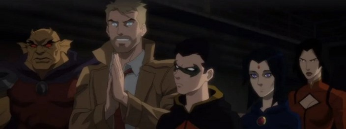 The series to be linked to the Dark Justice League