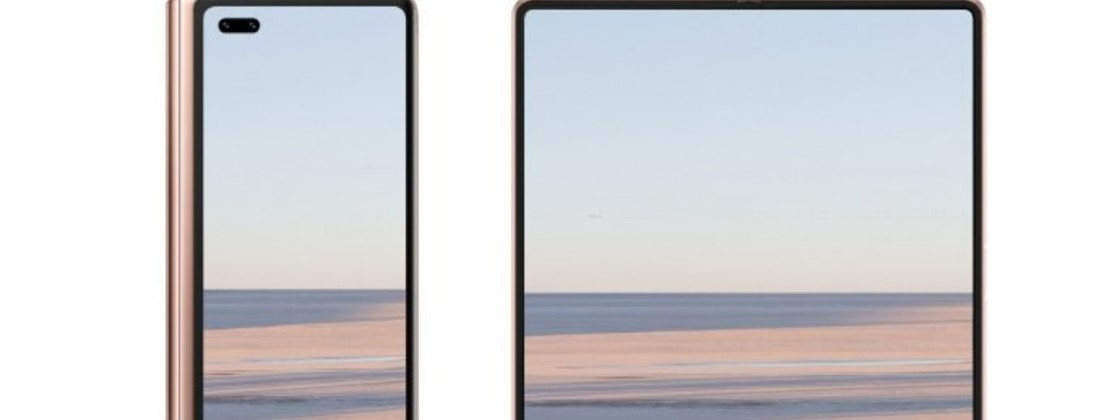 Huawei Mate X2 has foldable design revealed in teaser