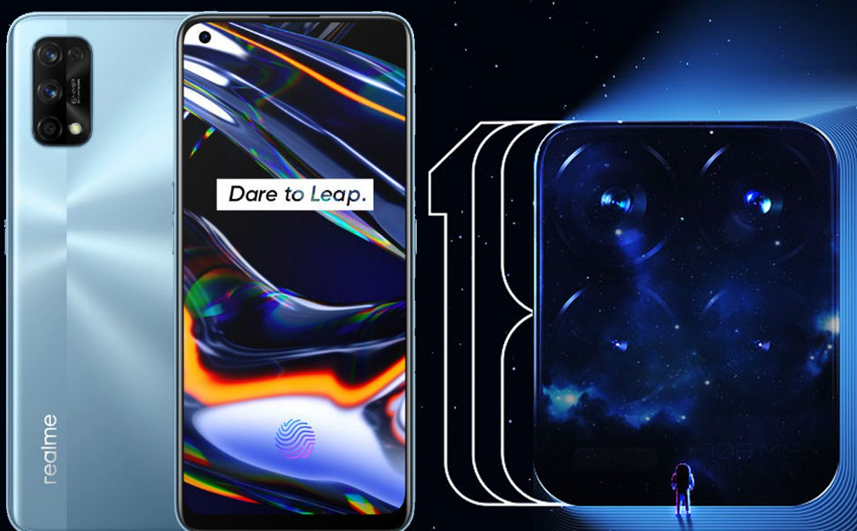 """""""Encrypted message"""" surprise for realme 8 series features"""