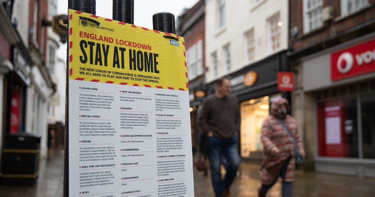 Ad campaign launched to reinforce England's 'stay at home' message