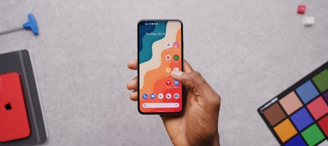 Android 12 offers the possibility of Pixel 6 XL launching