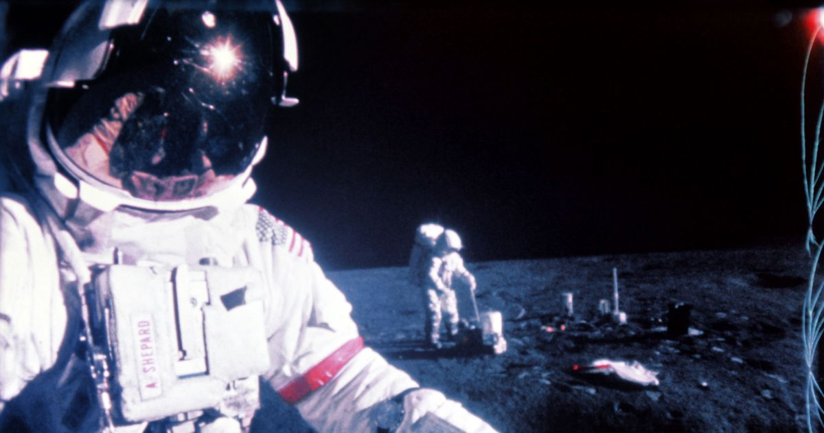 Apollo 14 astronaut's 'lost' golf ball found on moon 50 years later