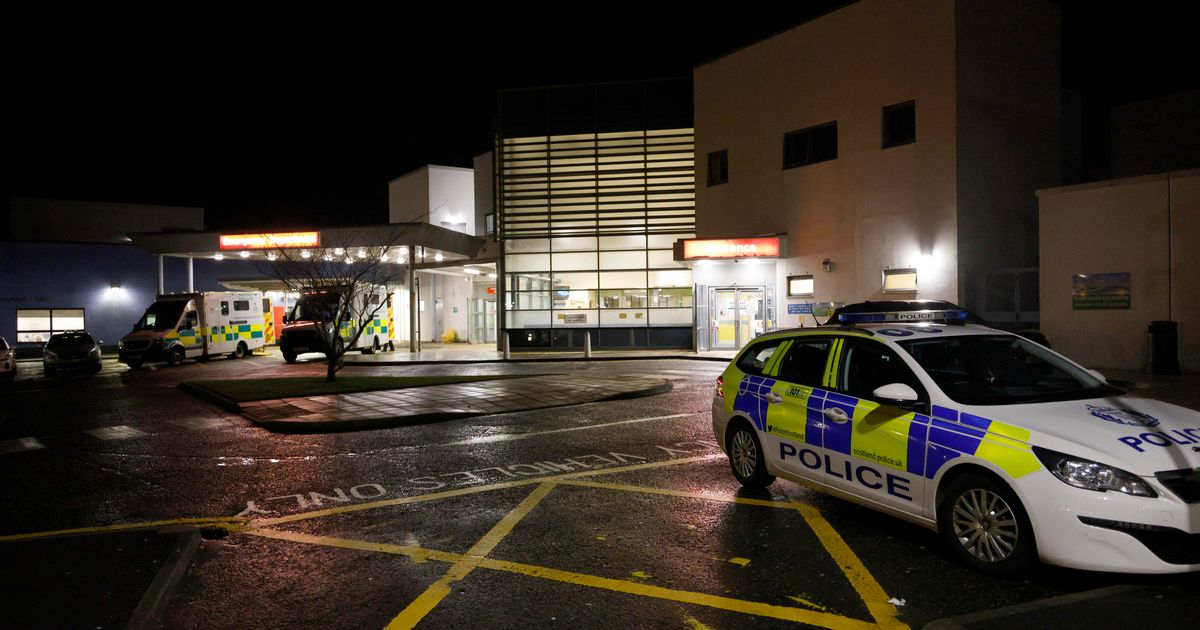 Armed police rush to hospital following reports of stabbing