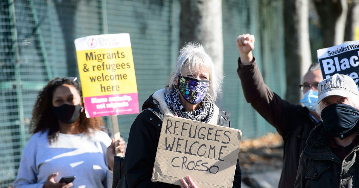 Asylum seekers camp in Penally has had an impact on policing