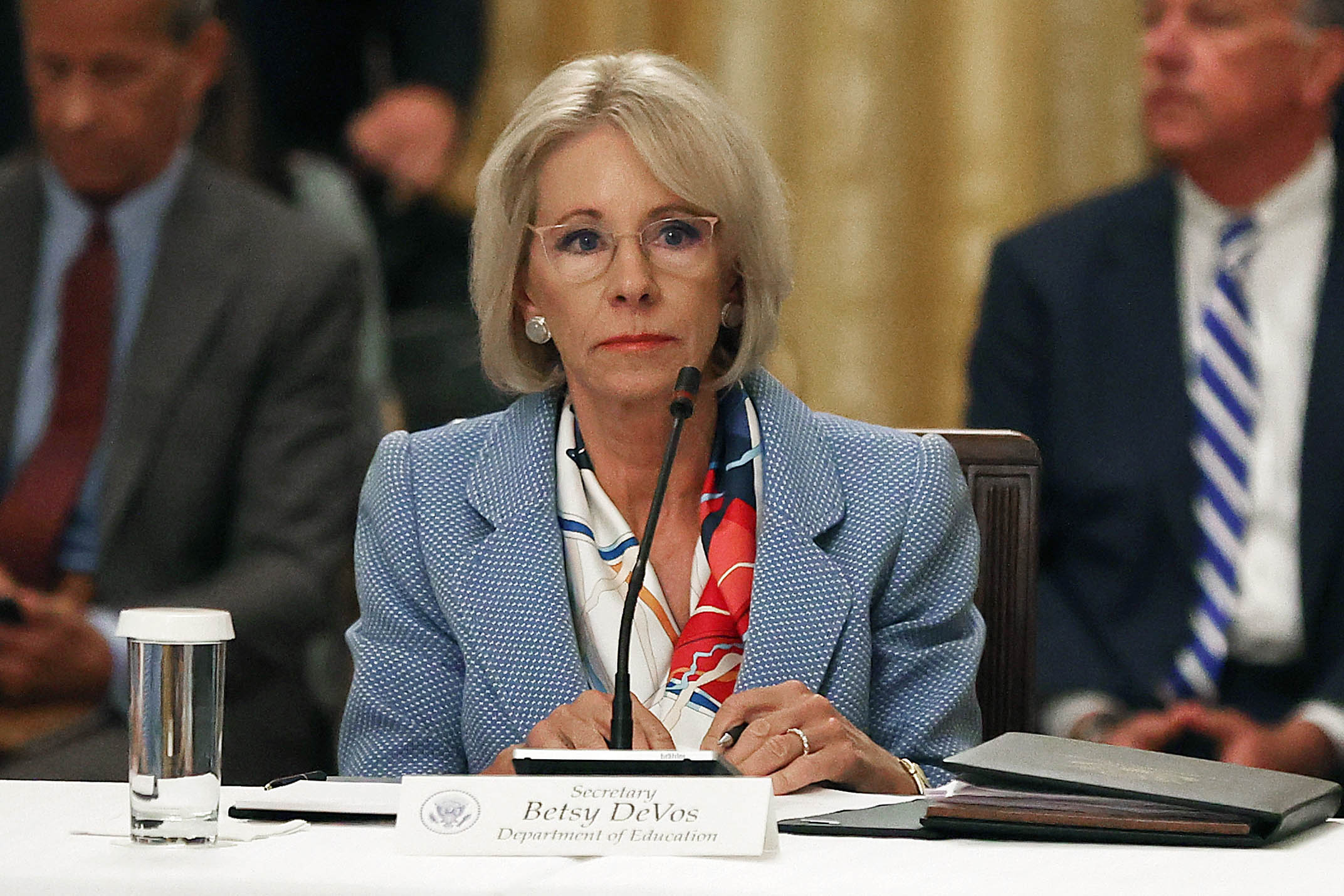 Biden administration backs DeVos in fight over testifying about loan forgiveness