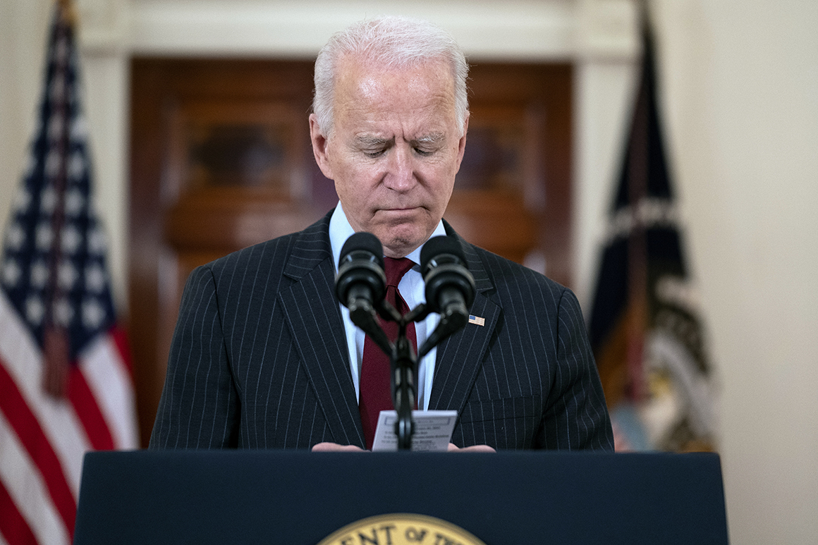 Biden calls for national unity and healing, as coronavirus death toll climbs past 500,000