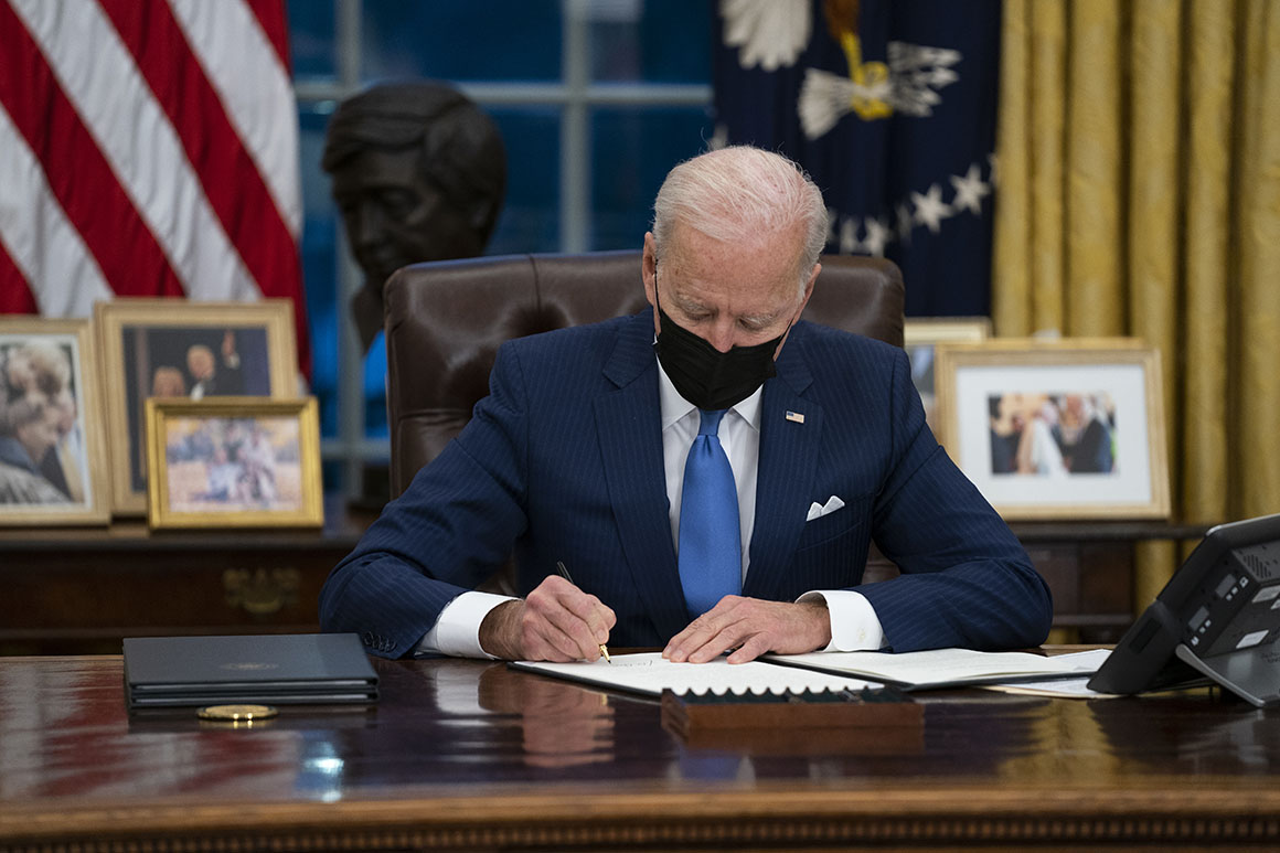 Biden orders supply chain review for 4 industries