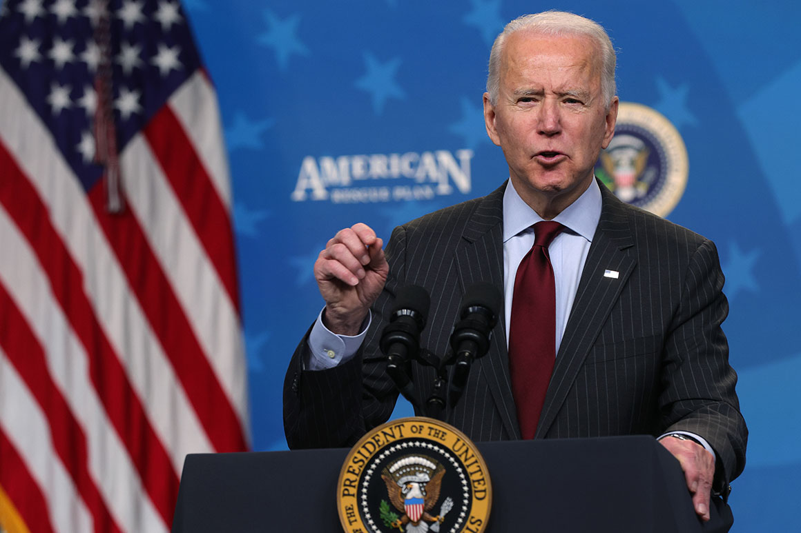 Biden readies his first major penalties on Russia
