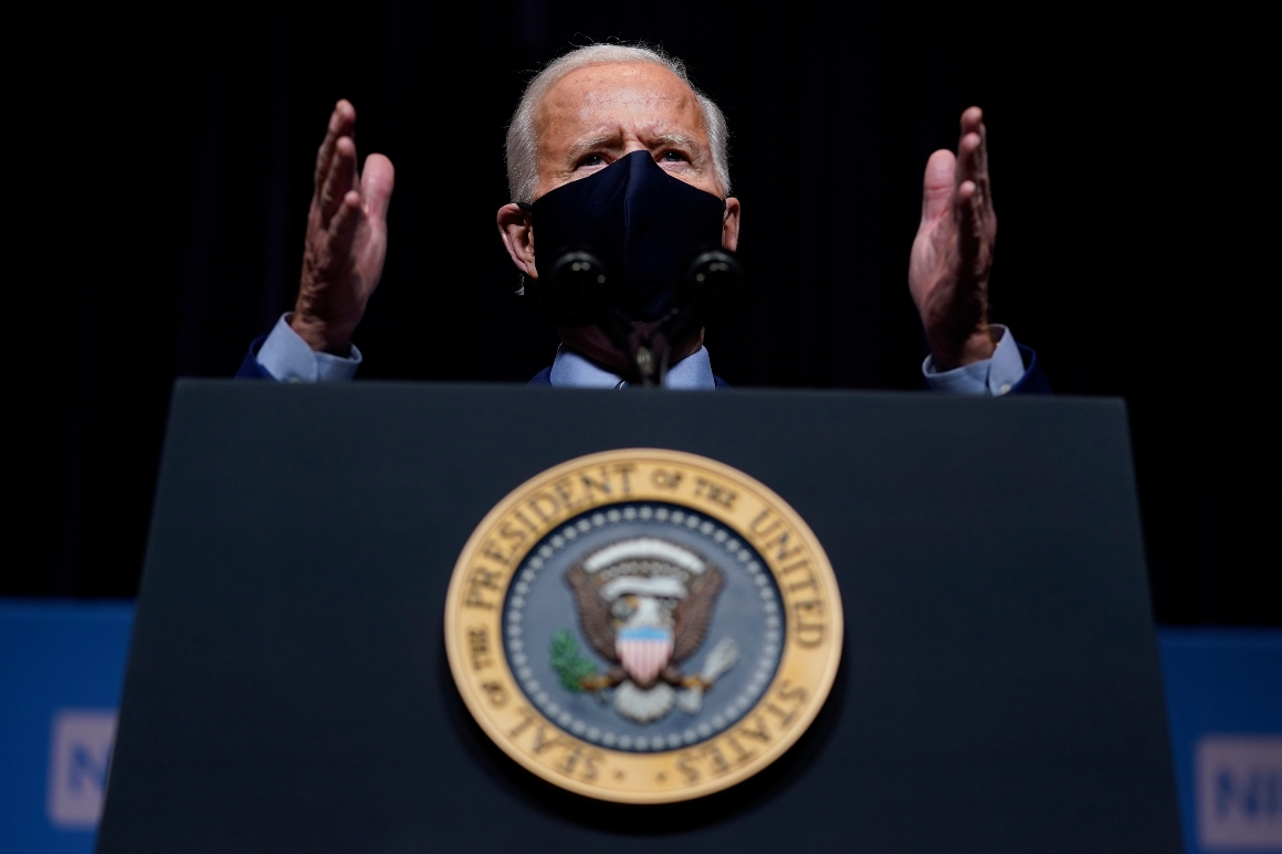 Biden's follow-the-science mantra on school meets political reality
