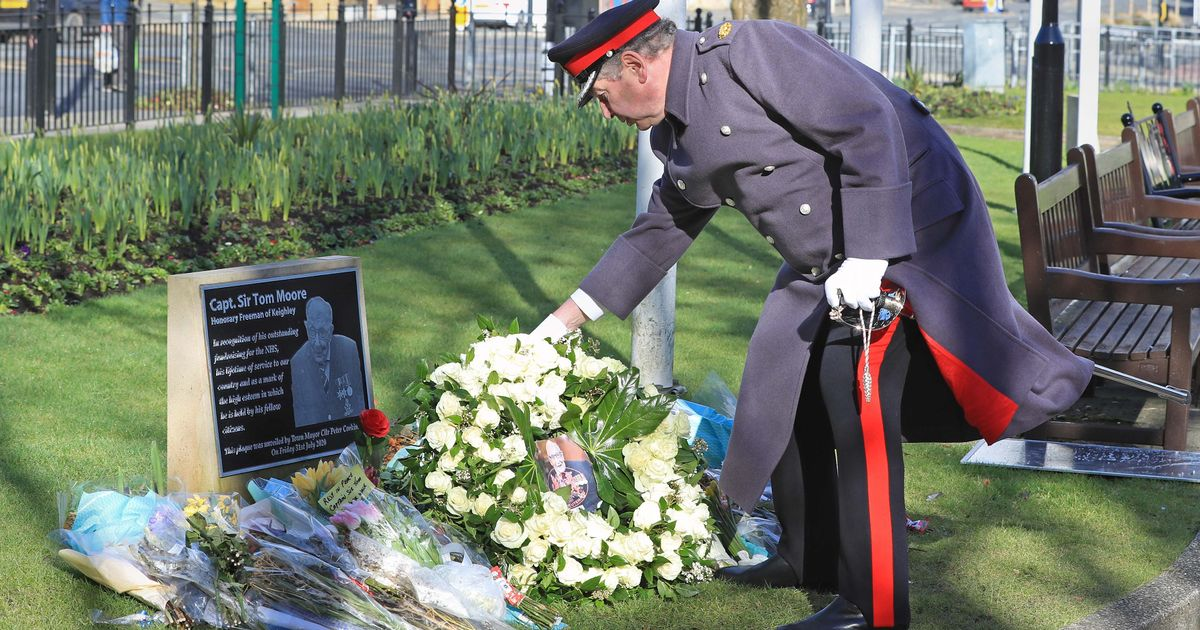 Captain Sir Tom Moore funeral - his spirit lives on, says family of fundraiser