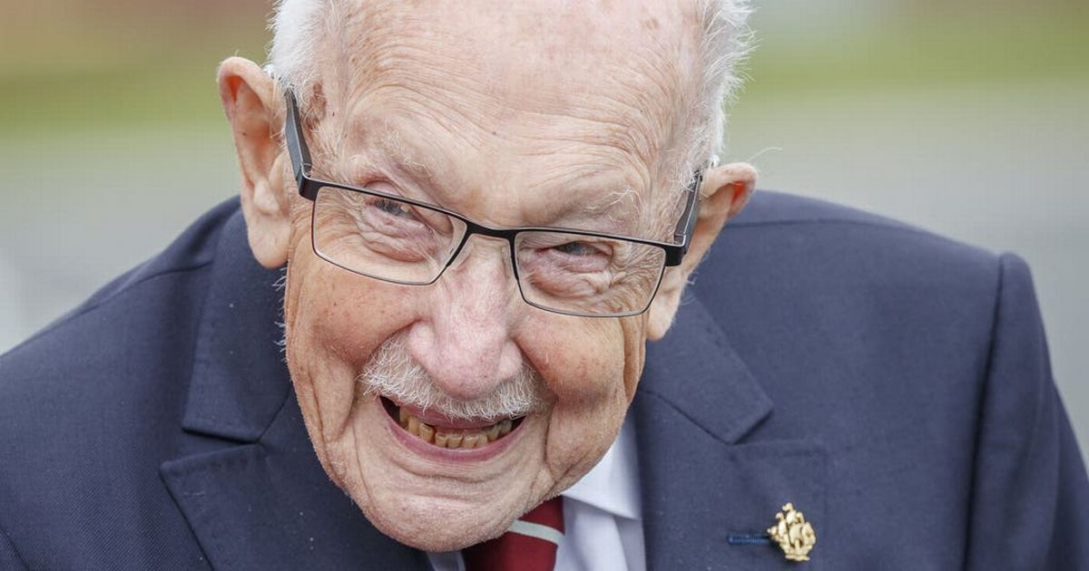 Captain Sir Tom Moore has died, aged 100