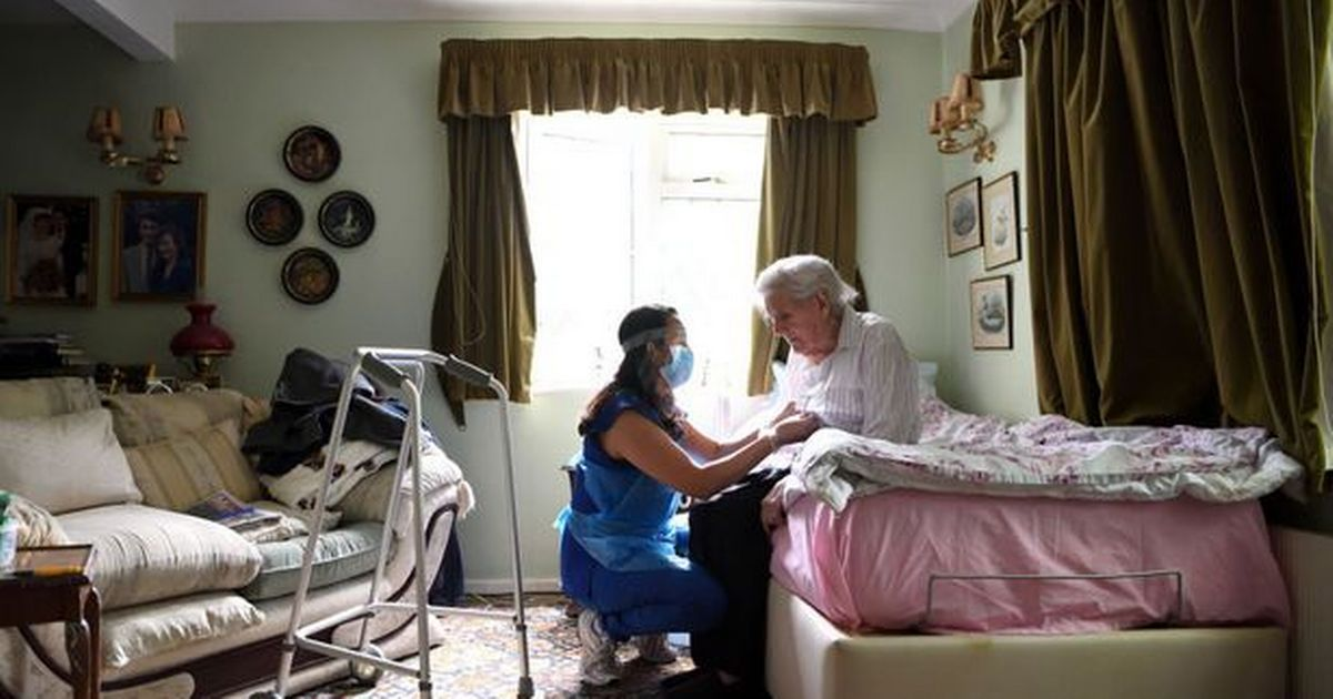 Care home visiting rules won't change for another month
