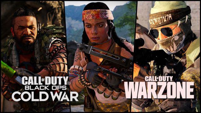 CoD Black Ops Cold War and Warzone: All Season 2