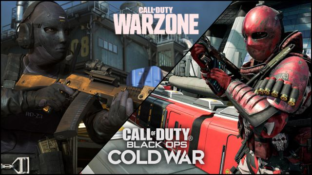 CoD Black Ops Cold War and Warzone