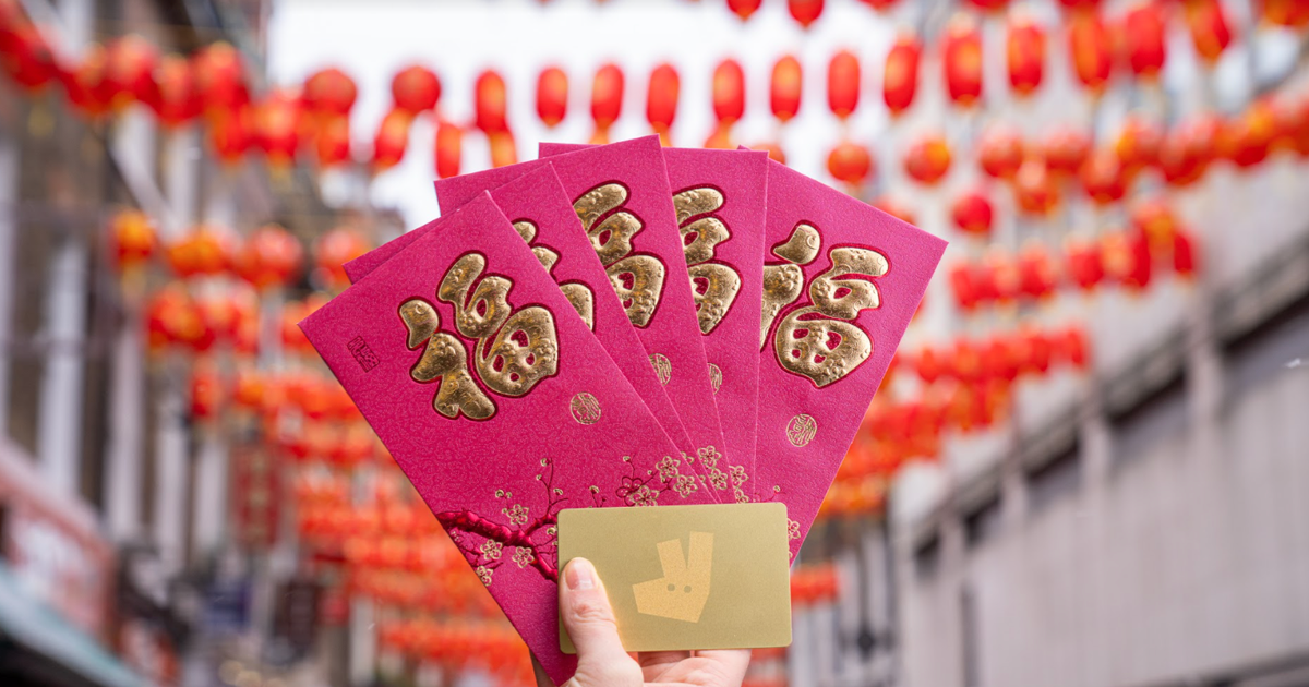 Credit vouchers in Deliveroo orders to celebrate Chinese New Year