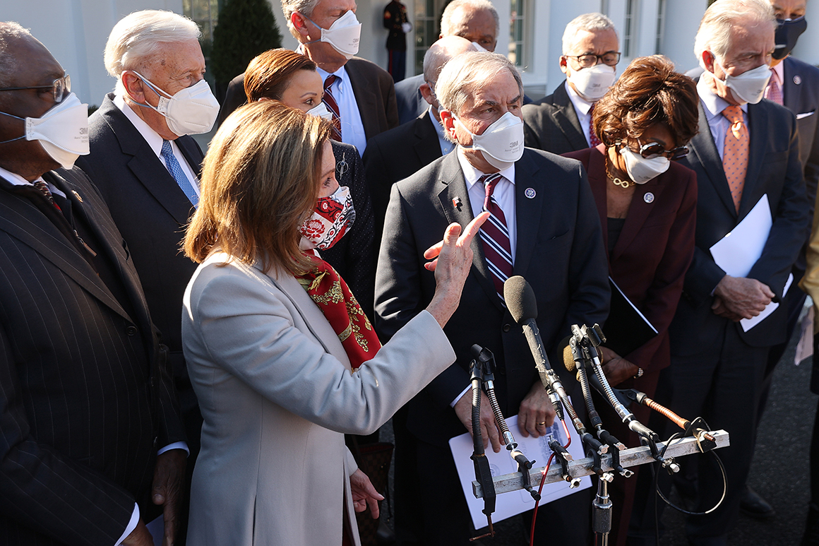 Dems prepare for party-line House vote on Biden's pandemic aid bill