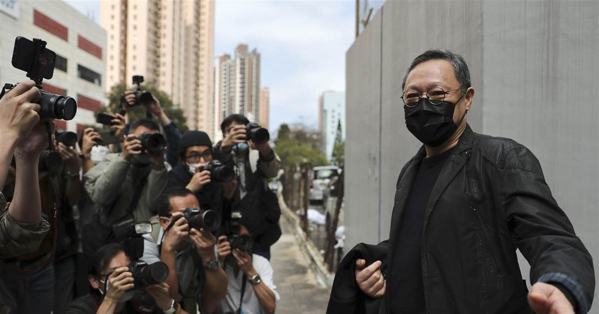 Dozens of pro-democracy activists detained as police crack down in Hong Kong