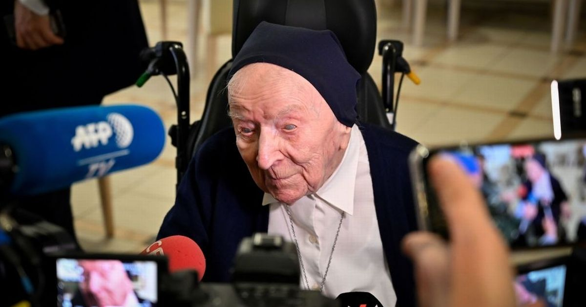 Europe's oldest person survives Covid - and blind nun, 116, didn't have symptoms