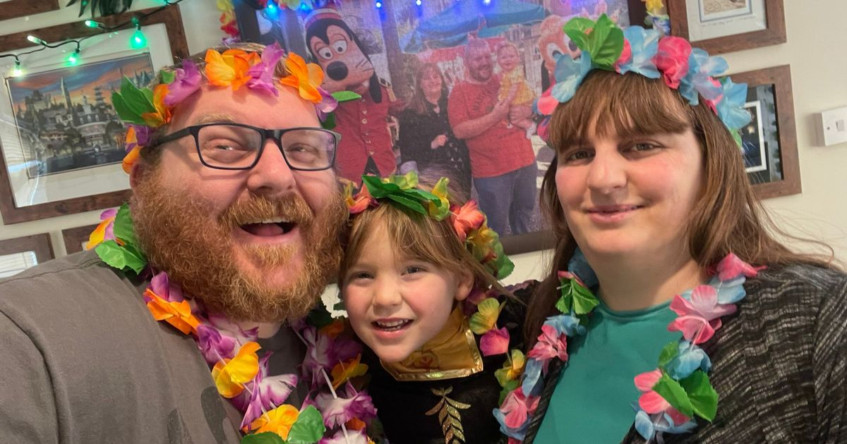 Family's elaborate staycation after Disney trips cancelled