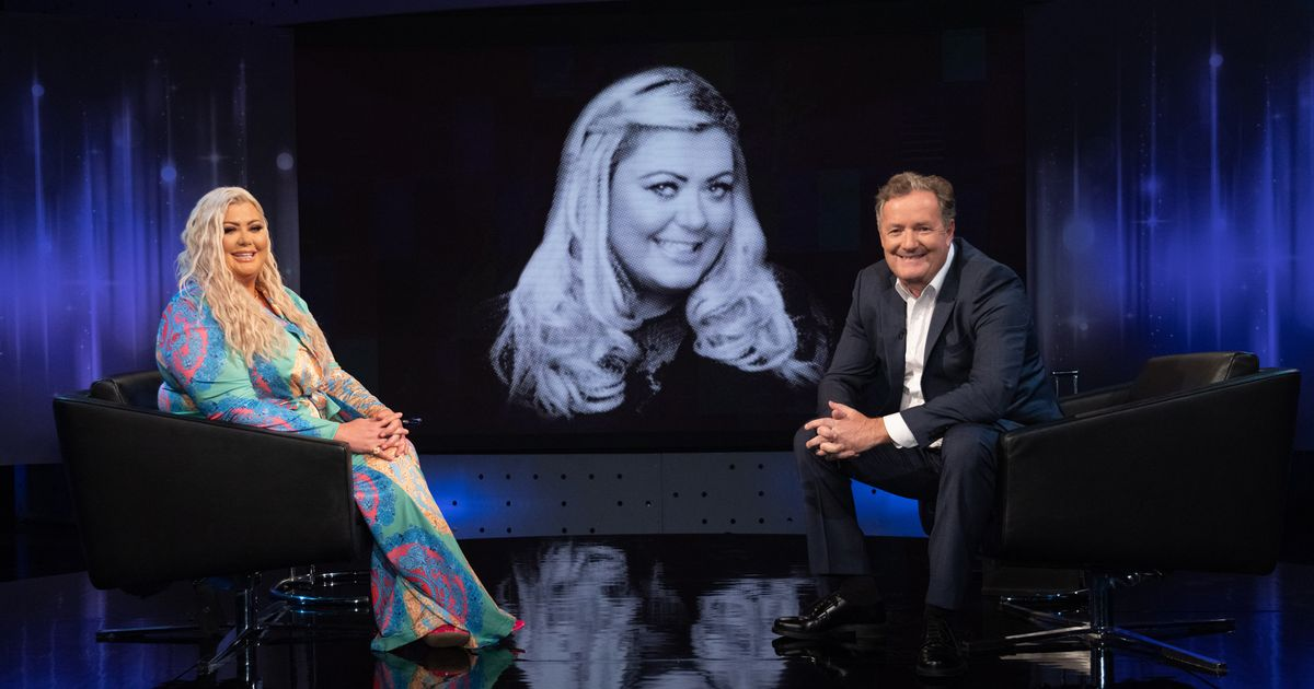 Gemma Collins urged to delete sex tape by shocked Piers Morgan