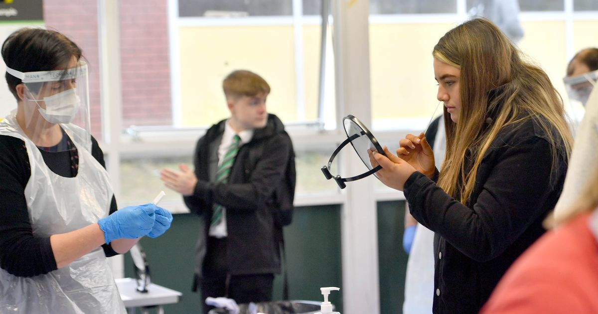 Government looking at Covid testing for pupils to allow return to school
