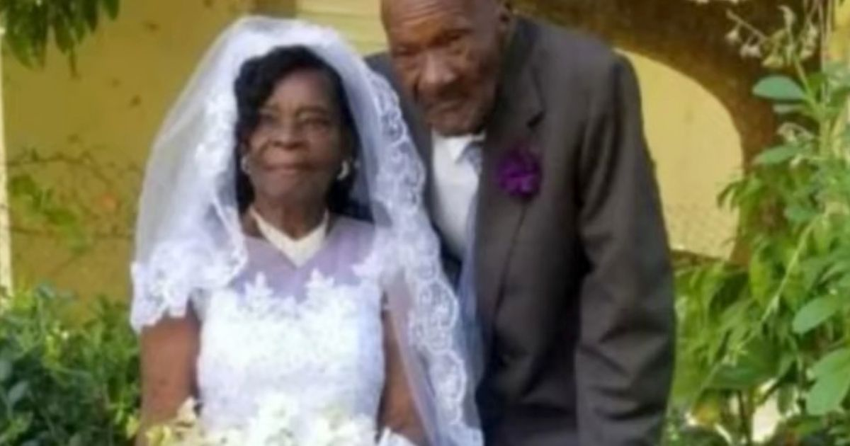 Gran marries her partner on her 91st birthday after years of tipsy proposals
