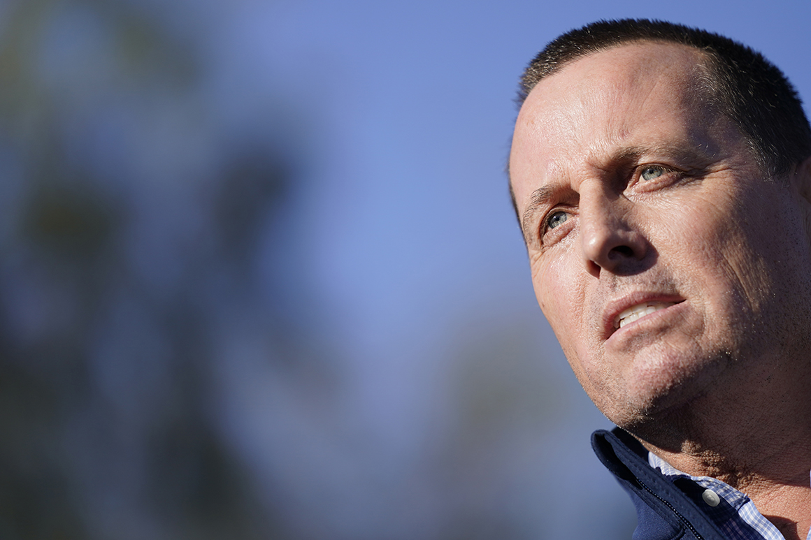 Grenell strongly hints at run for California governor at CPAC