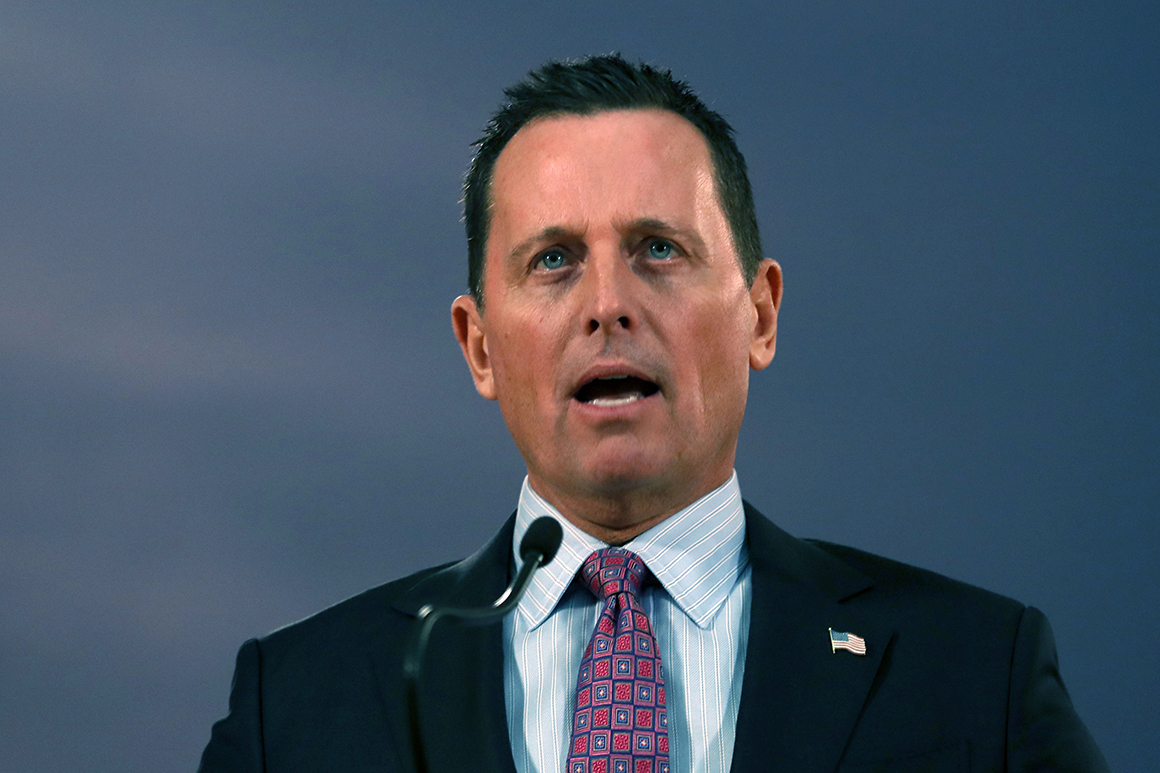 Grenell to discuss potential California governor run with Trump Saturday