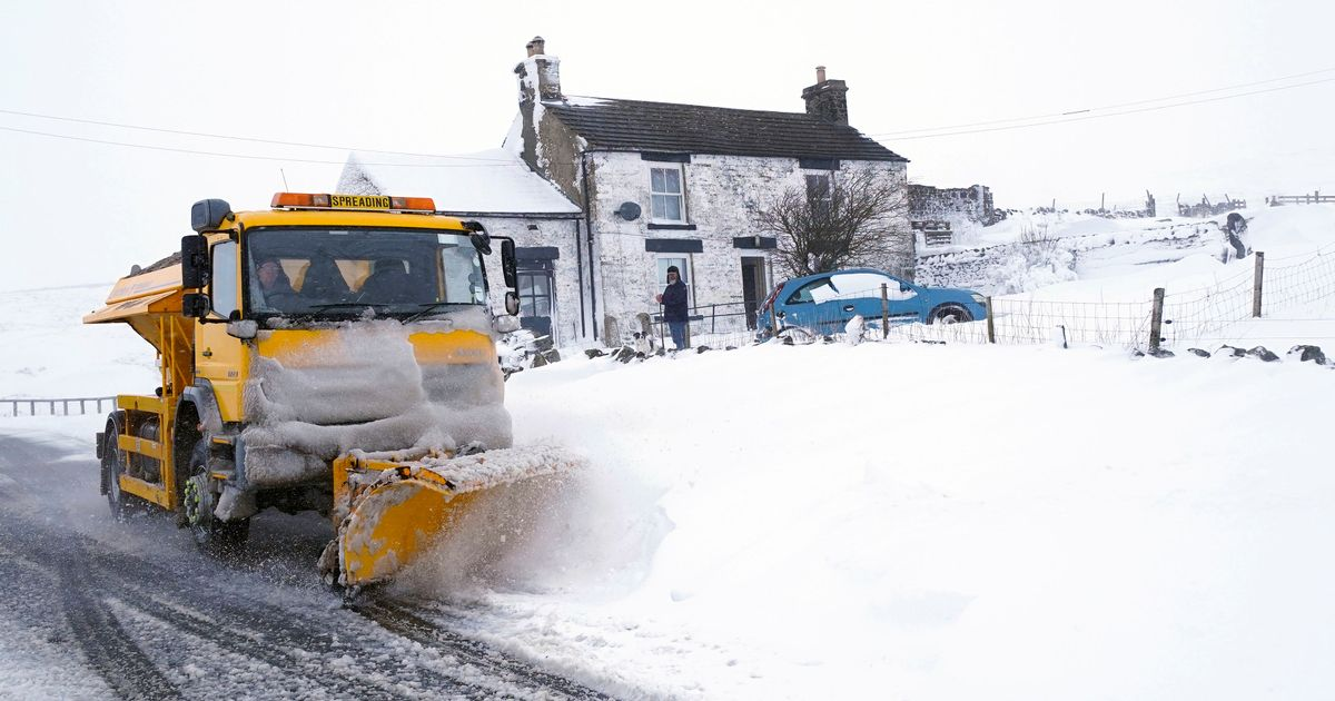 Heavy snow to bring disruption to south-east England
