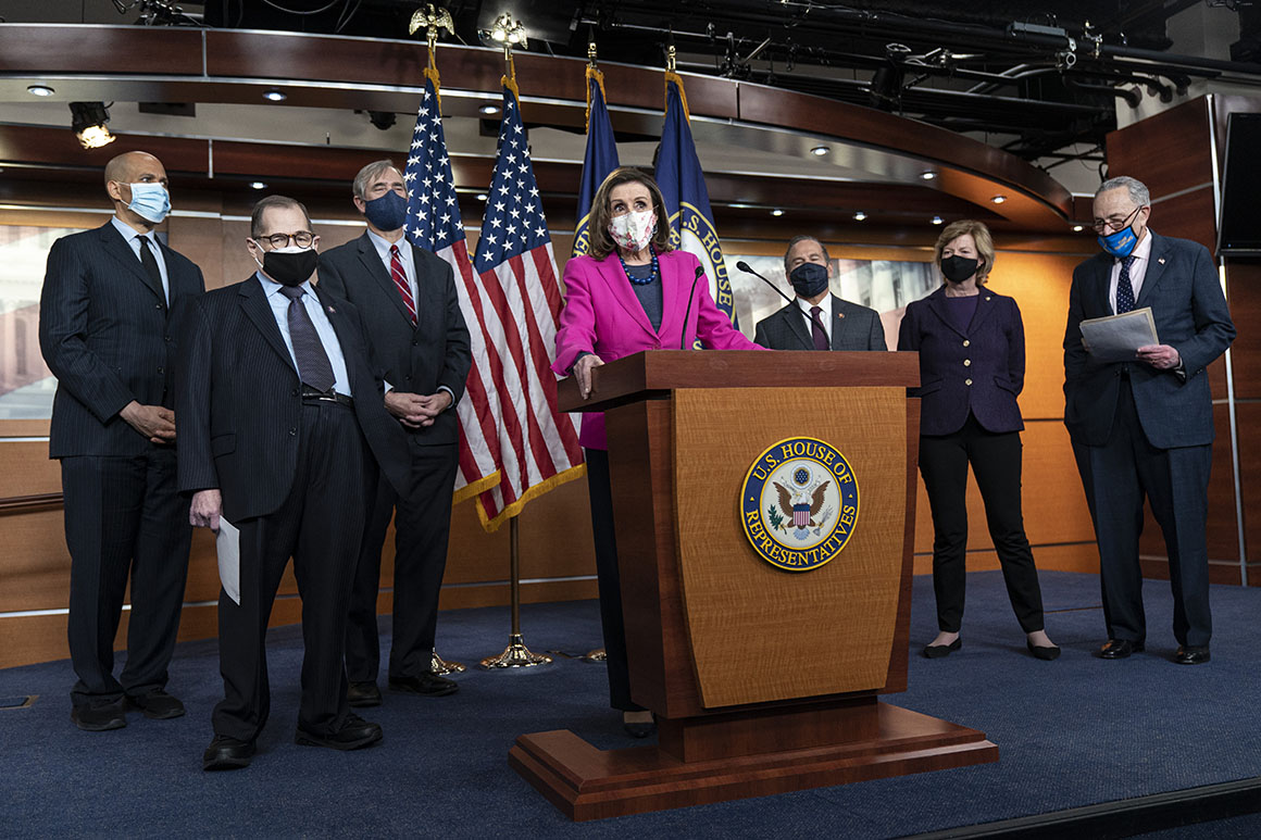 House Democrats brace for floor fights with raw post-riot emotions
