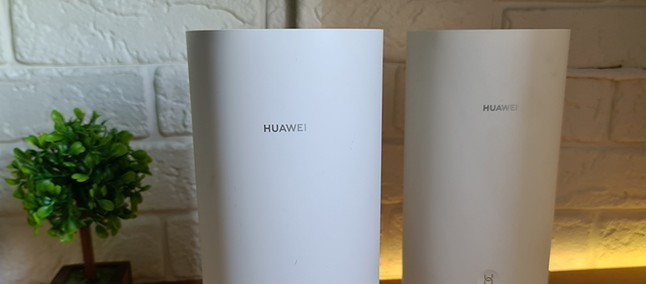 Huawei WiFi Mesh WS580, internet all over the house