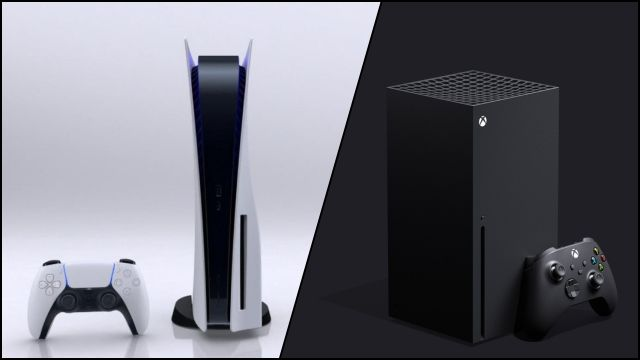 Initial sales of PS5 and Xbox Series compared to PS4