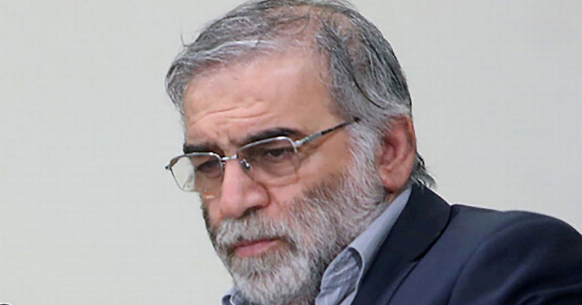 Iranian scientist killed with 'one-tonne remote controlled gun mounted on truck'