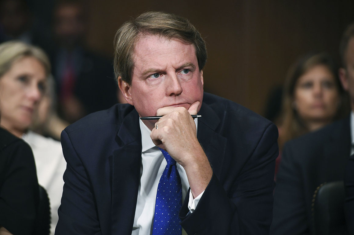 Judges order 2-month delay in case to compel McGahn testimony to House