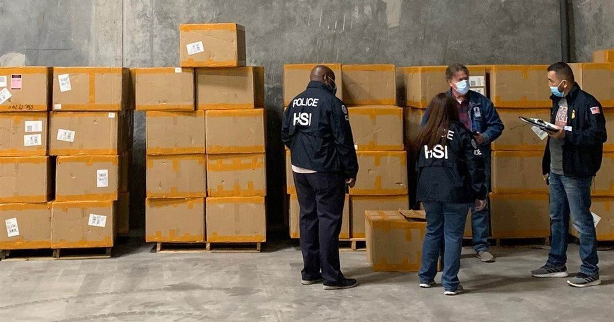Millions of counterfeit N95 masks distributed to health care workers in the U.S.