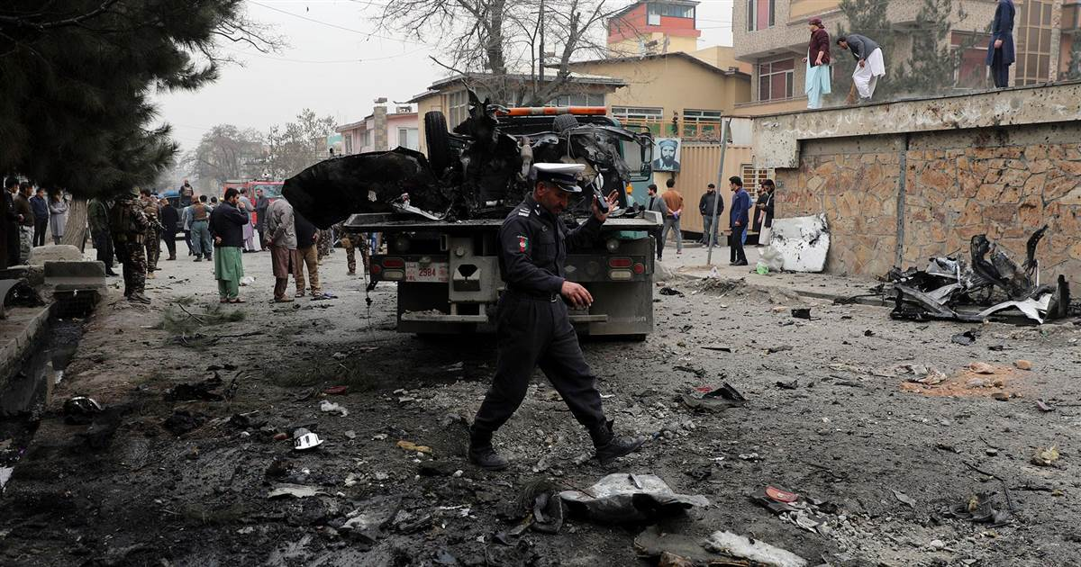 Multiple explosions in Kabul leave at least five dead