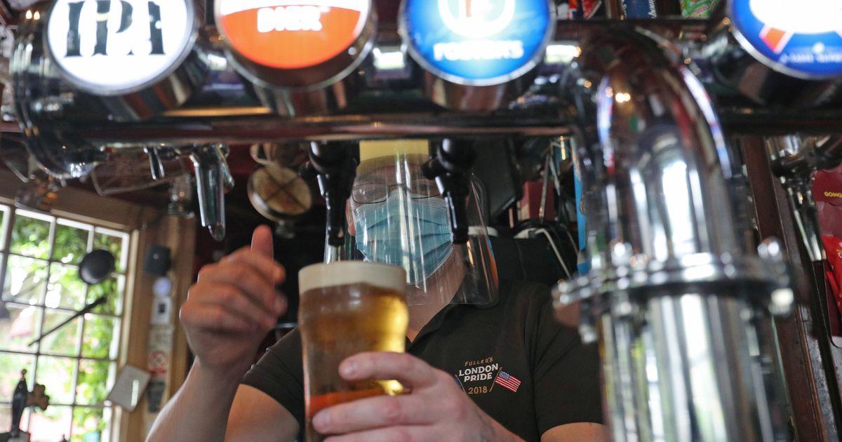 PM urges caution as reports suggest pubs could stay shut until May