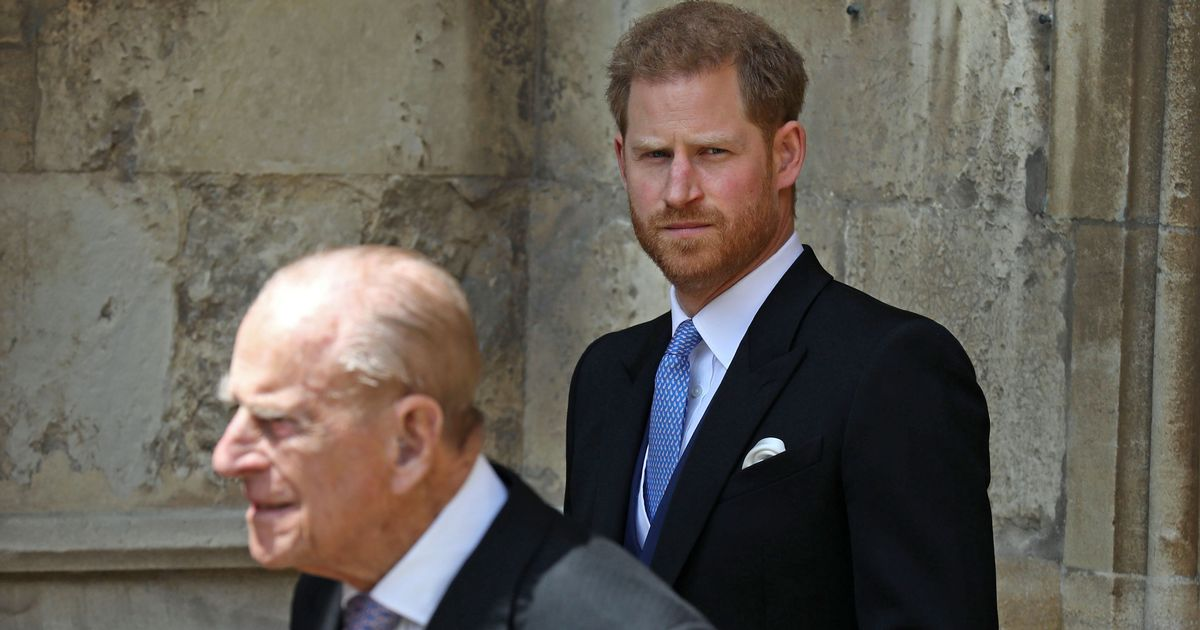 Prince Harry 'self-isolating' in case Duke of Edinburgh's condition gets worse