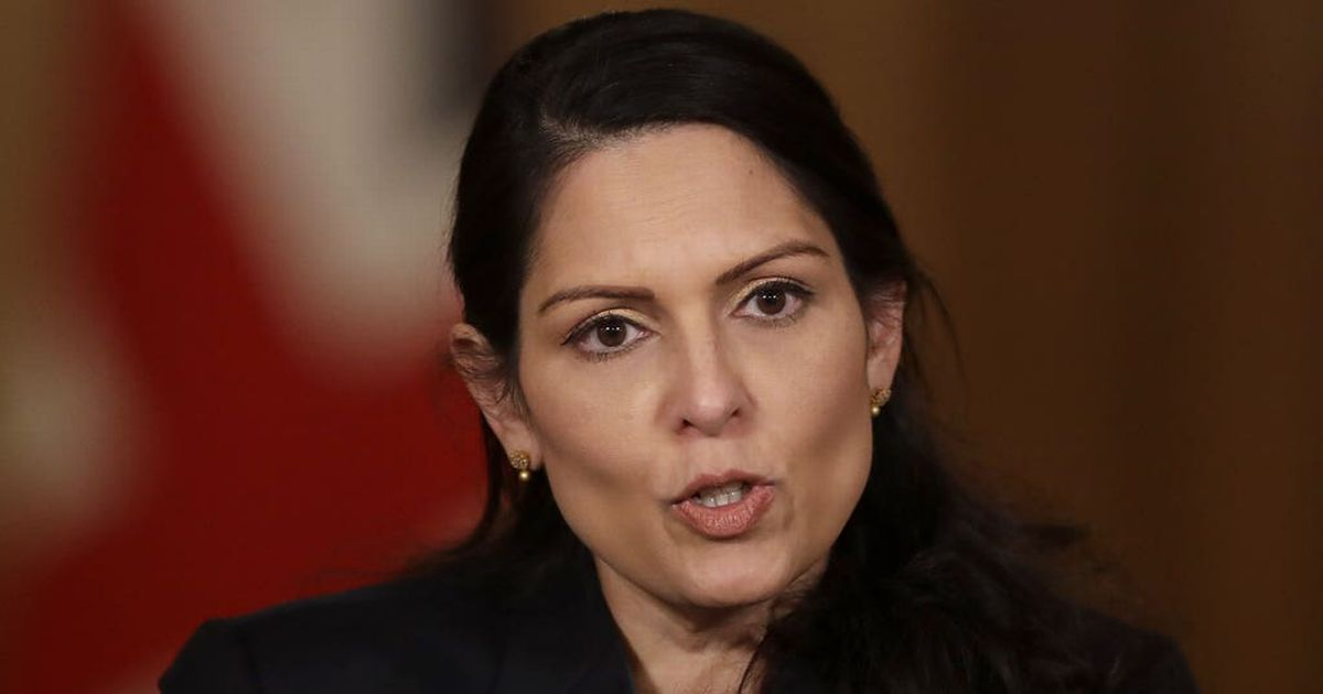 Priti Patel does not agree with BLM protests or 'taking the knee'