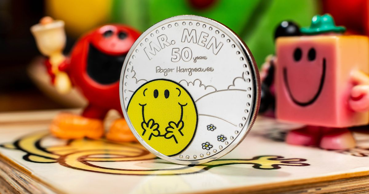 Royal Mint coin collection to celebrate Mr Men anniversary