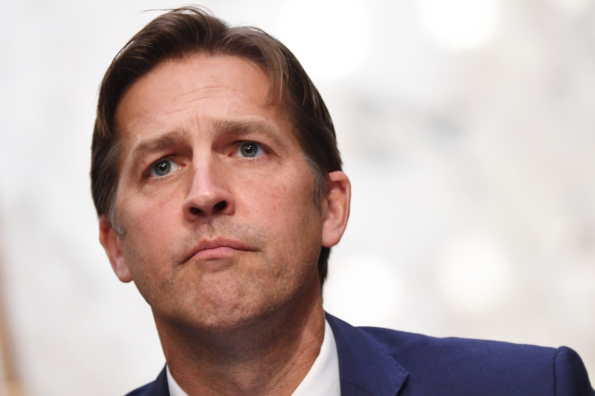 Sasse marches to own tune as GOP implodes around him