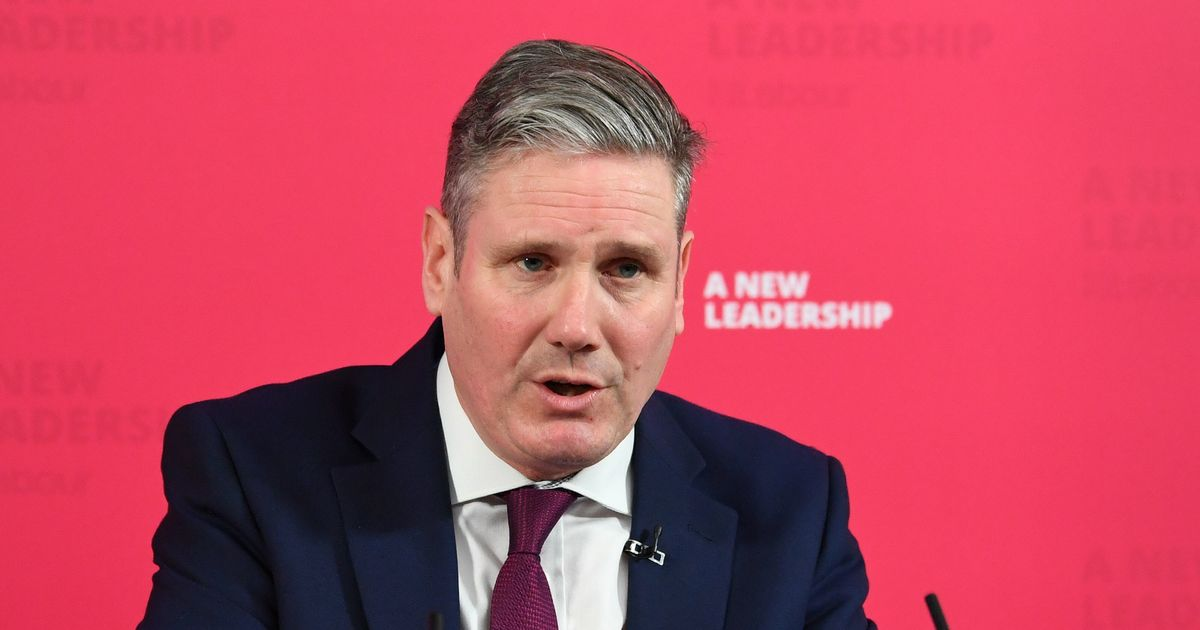Sir Keir Starmer wants to a 'forge new Britain' on the wake of pandemic