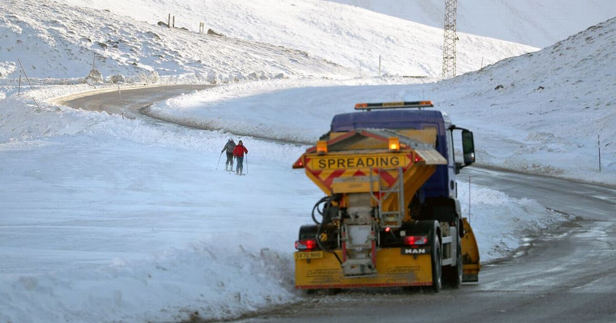 Snowcially Distanced among new names for gritters keeping roads open