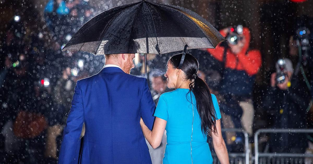 Speculation swirls around Prince Harry and Meghan as they exit royal roles